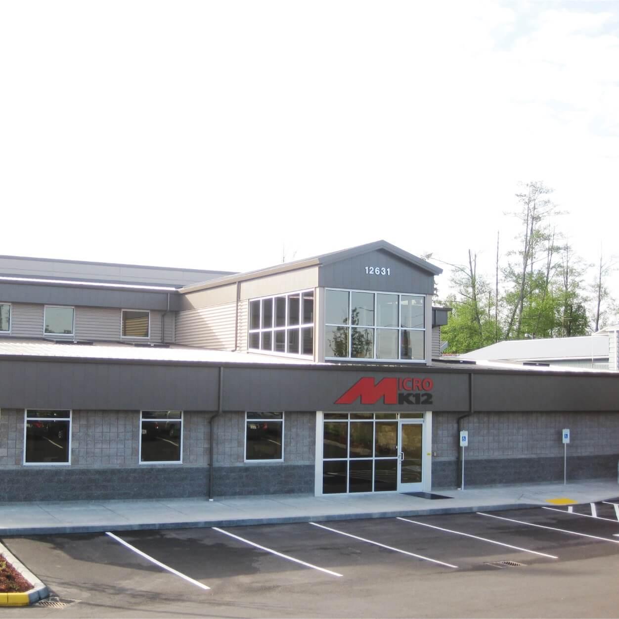 MicroK12 Headquarters in Lynnwood, WA